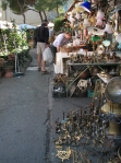 One of Florence's popular flea markets