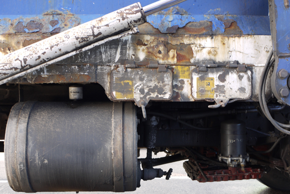 Truck rust blog