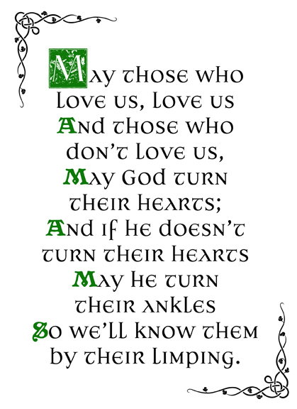 Bit Of Irish Wit For St Patricks Day