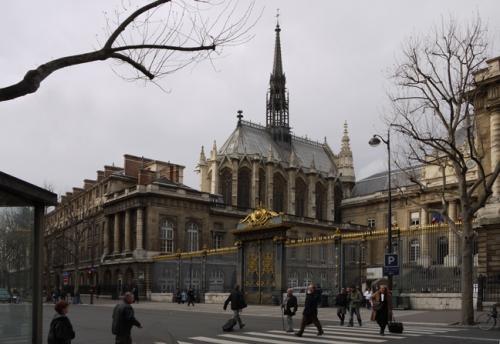 B Sainte Chapelle exterior BLOG