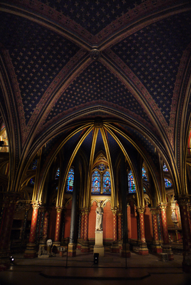 E Ste chapelle lower chapel BLOG