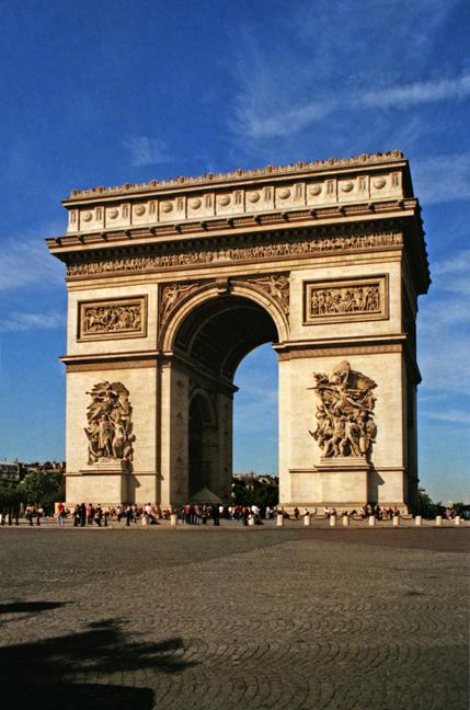 Paris 1997 Arc de Triomphe BLOG
