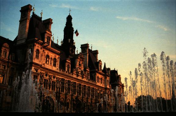 Paris 1997 Hotel de Ville BLOG