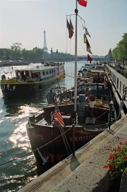 Paris 1997 Seine scene BLOG