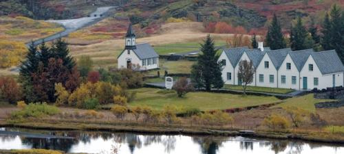 Questar Iceland country church BLOG