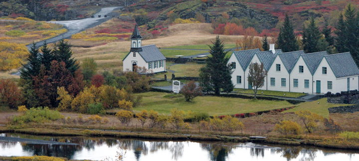 Questar Iceland country church BLOG