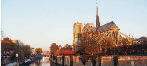 Questar Notre Dame sunrise BLOG
