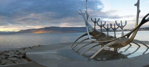 Questar Reykjavik Iceland Viking ship BLOG
