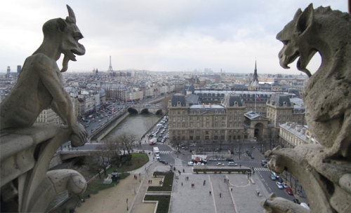 Notre Dame gargoyles merged BLOG