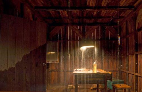 Rain house sculpture