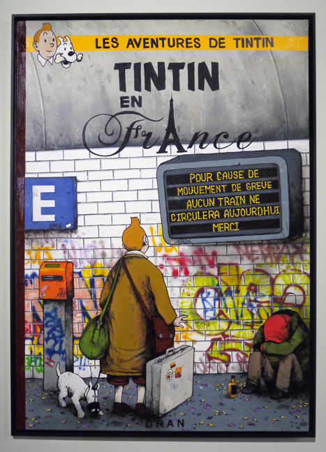 Street art Tin Tin 1030410 FB