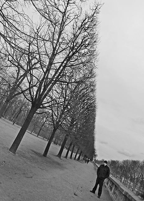 Louvre gardens 1060754 BW BLOG