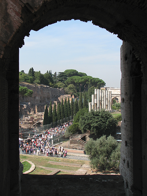 Rome Palatine from Colo FRAME BLOG