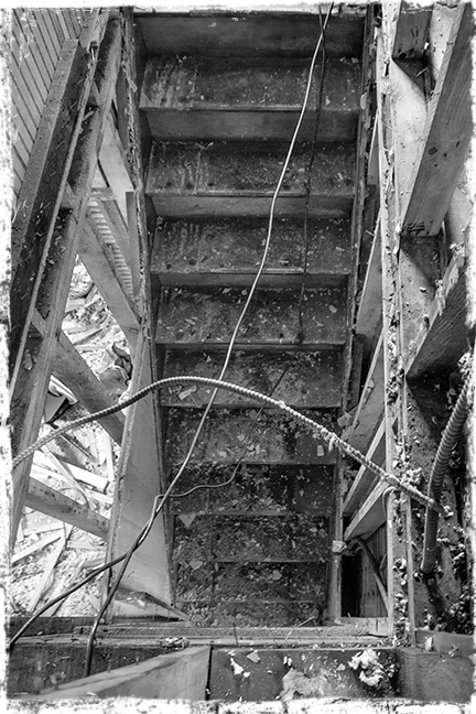 Stairs to main floor old BLOG