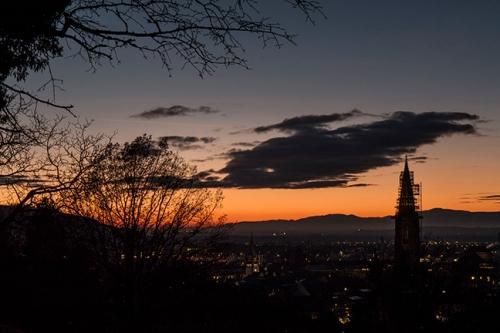 Freiburg sunset 1040708 BLOG