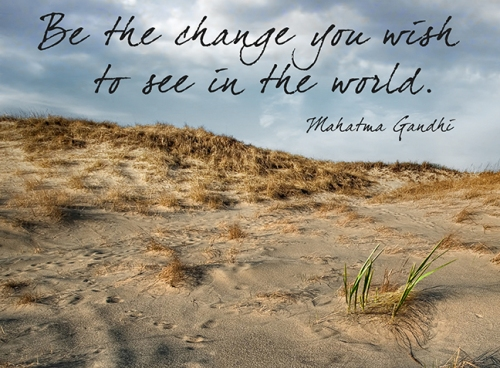 Be the Change BLOG