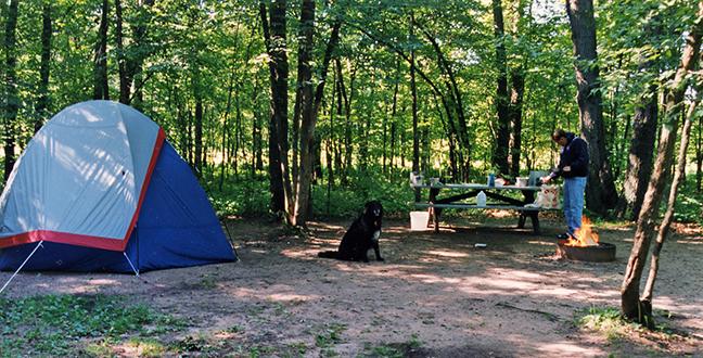 Camping at Banning BLOG