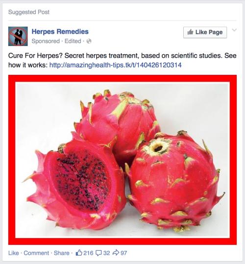 Facebook targeted marketing