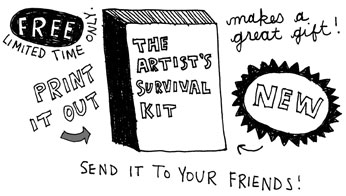 Keri Smith artist survival guide