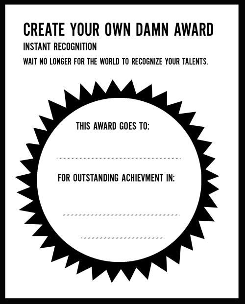 Keri Smith own damn award