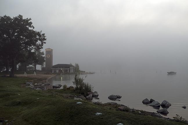 Chautauqua tower and boat 1150496 BLOG