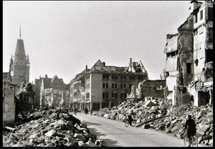 Freiburg rubble