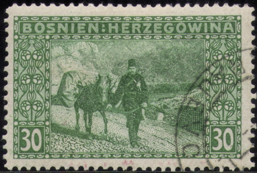 Bosnia Herzegovina stamp BLOG