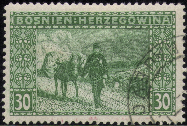 Bosnia Herzegovina stamp BLOG