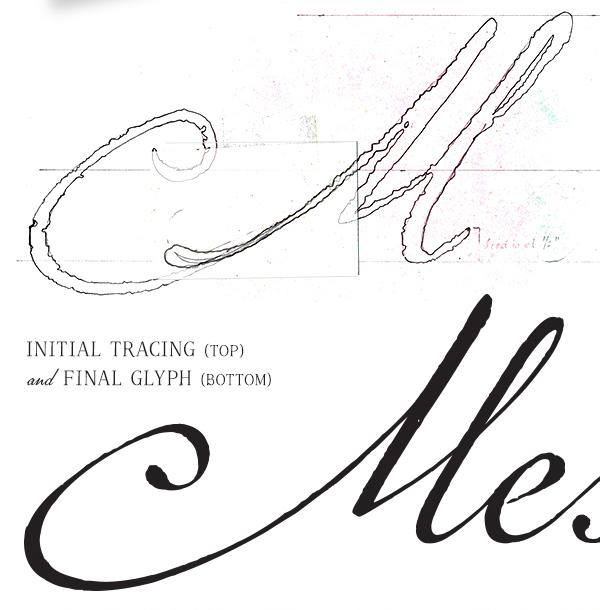 Marcel font tracing