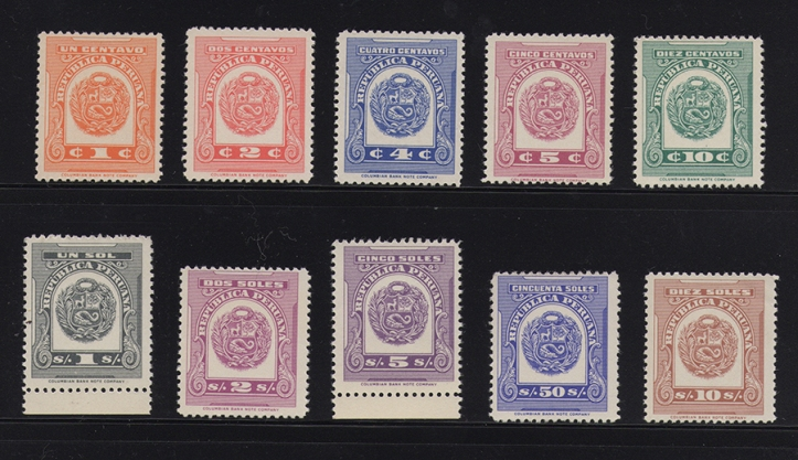 Peruvian tax stamps BLOG
