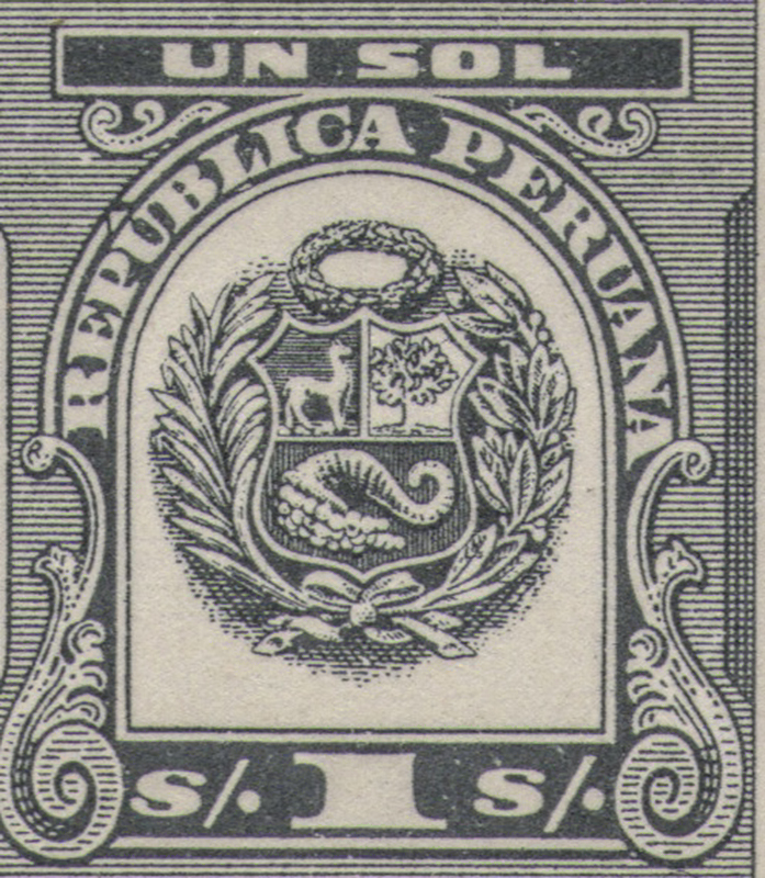 Peruvian tax stamps detail BLOG