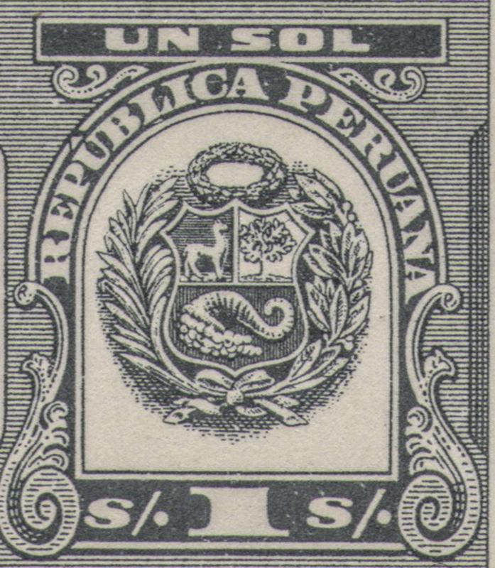 Peruvian tax stamps detail BLOG