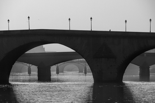 Seine bridges 1100839 BW BLOG