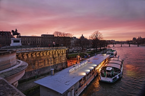Seine sunset 60872 BLOG