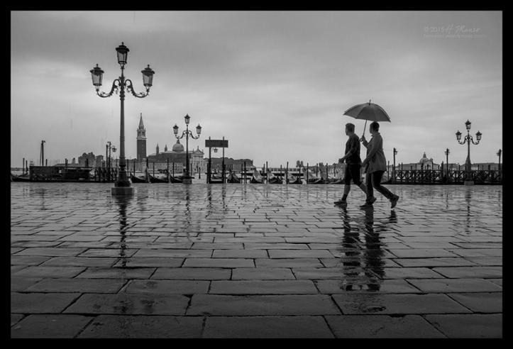 San Marco in rain 1570293 BW BLOG