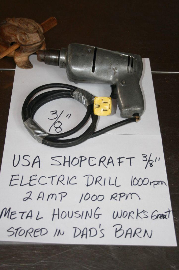 eBay shopcraft drill BLOG
