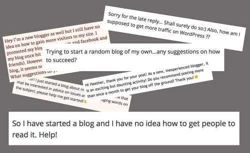 Blog follower advice