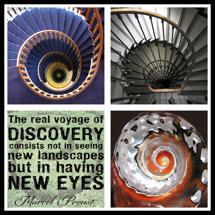 The real voyage stairs BLOG