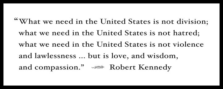 Robert Kennedy Quote BLOG