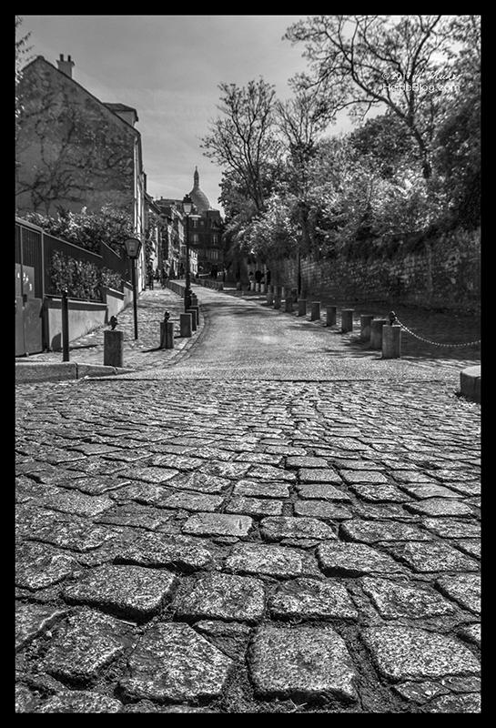 Rue de l'Abreuvoir 1150494 BW BLOG