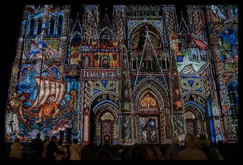 Rouen cathedral light show 1510397 BLOG