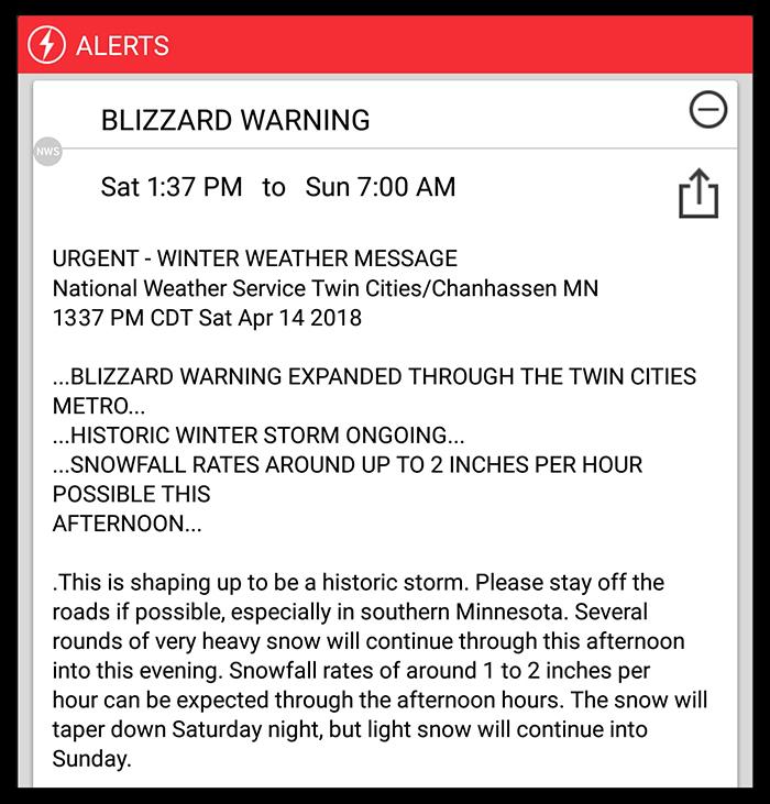 Blizzard 2018 BLOG