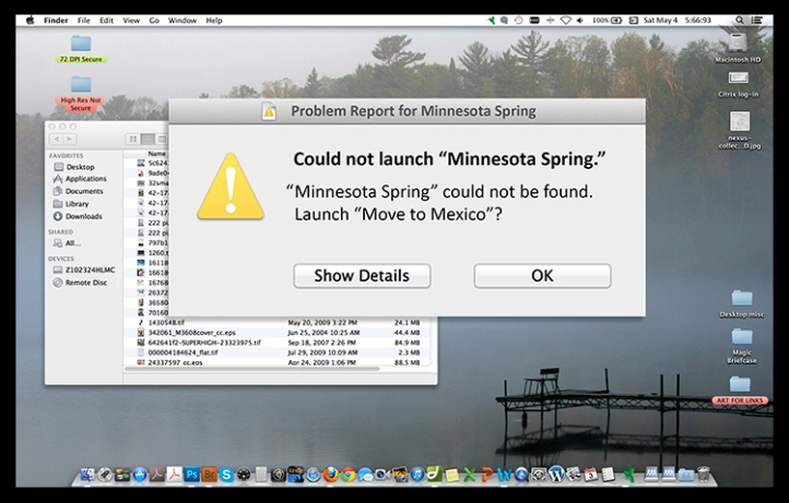 Minnesota Spring problem funny BLOG