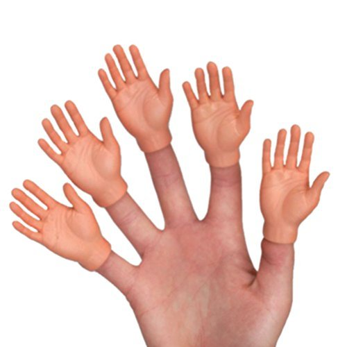 Finger hand puppets