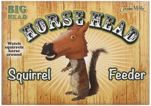 Squirrel horse head