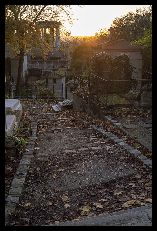 Père Lachaise at sunset 1230245 BLOG