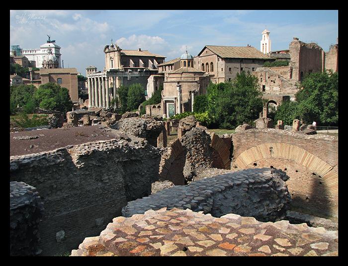 Rome forum dig 2 CC BLOG