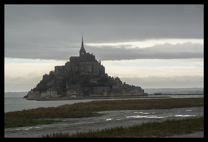 Mont St Michel from bus 1500305 BLOG