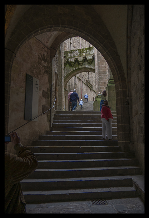 Mont St Michel stairs 1480528 BLOG